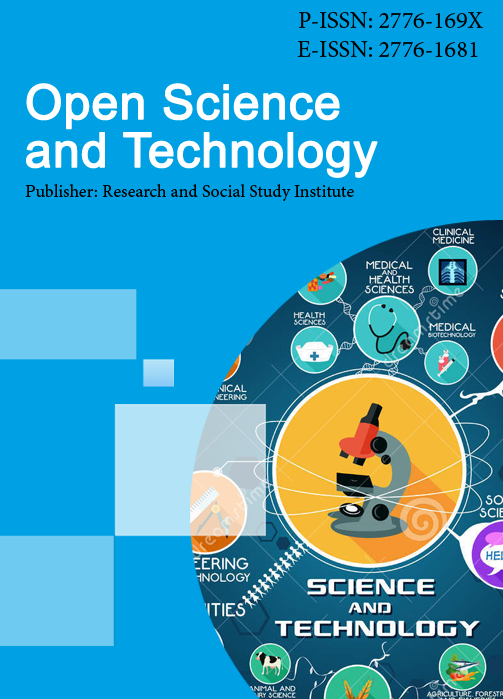 View Vol. 1 No. 2 (2021): Open Science and Technology